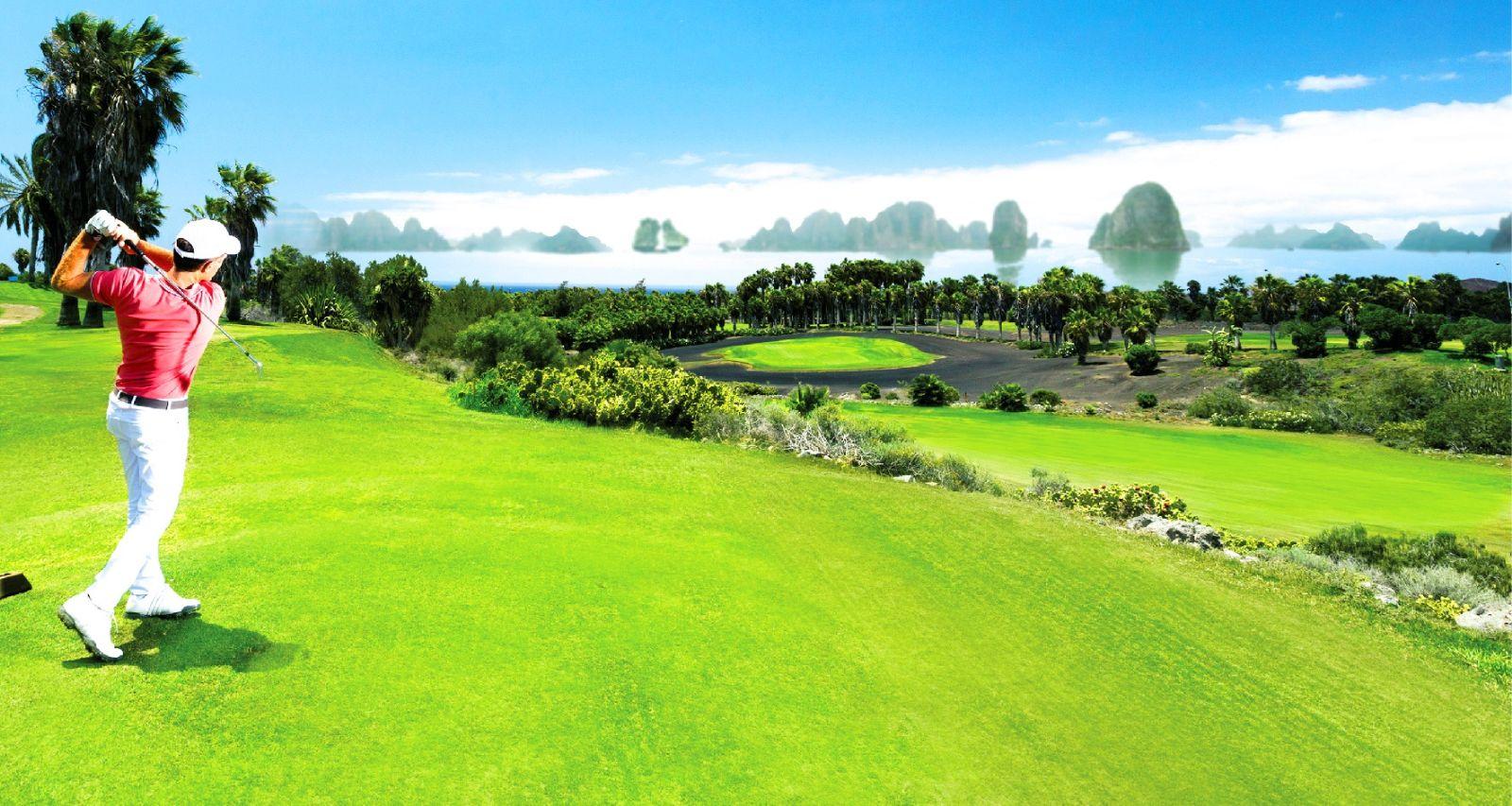 FLC Hạ Long lần đầu mang đến những dịch vụ như sân golf, trường huấn luyện cưỡi ngựa với địa thế trên đồi hướng biển tuyệt đẹp
