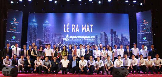 Ra mắt hơn 50 đại lý phân phối BĐS đầu tiên của nghemoigioi.vn