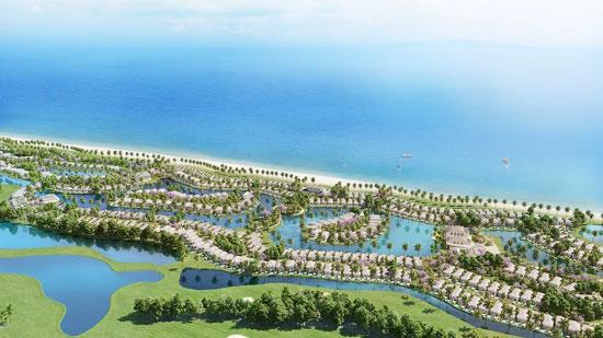 Toàn cảnh dự án Biệt thự nghỉ dưỡng Vinpearl Phú Quốc Villas tại Bãi Dài, Phú Quốc.