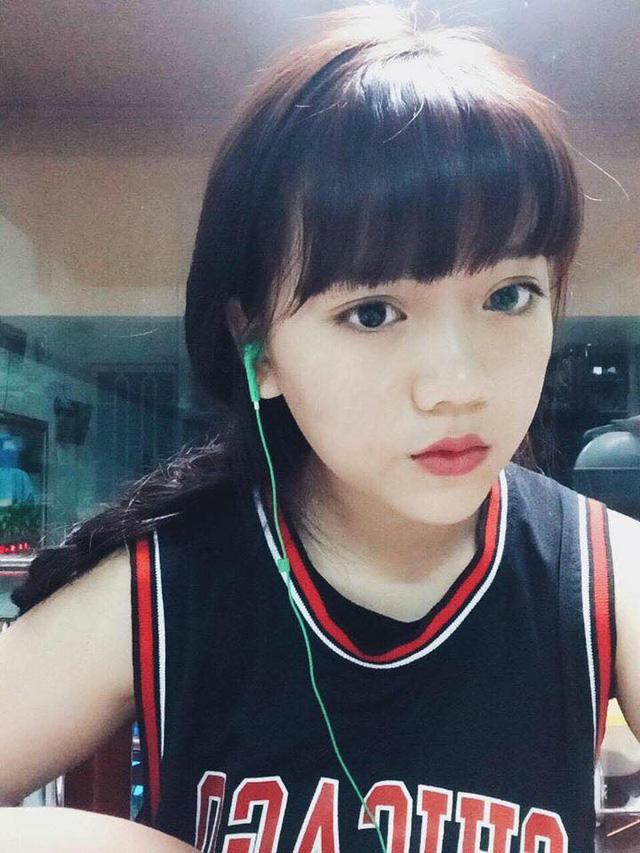 Cô nàng Nguyễn Ngọc Bảo Hân sở hữu gương mặt xinh xắn và đáng yêu
